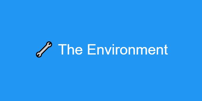 The Environment - 2019. 03. 30. Thumbnail