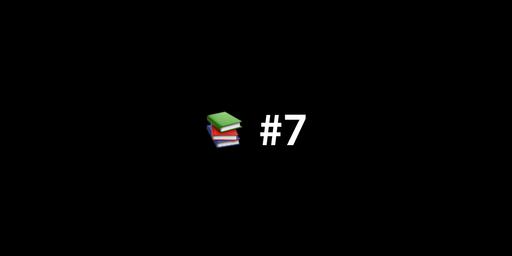 📚 한 주간 본 IT 글, 영상 아카이브 #7