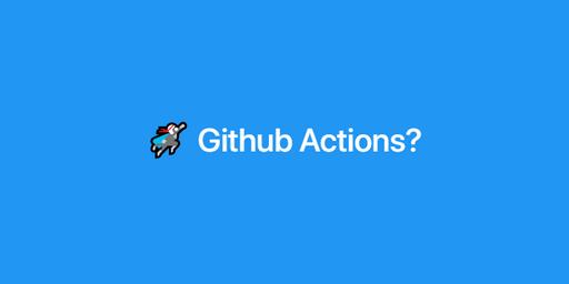 [Github Actions] Github 에서 Workflow 사용하기
