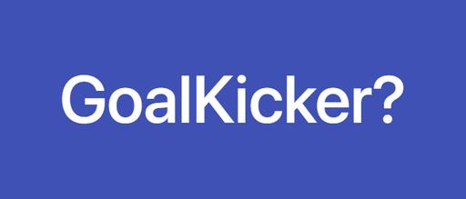 GoalKicker에 대해서 알아보자