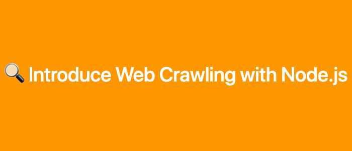 Node.js 에서 웹 크롤링하기 Thumbnail